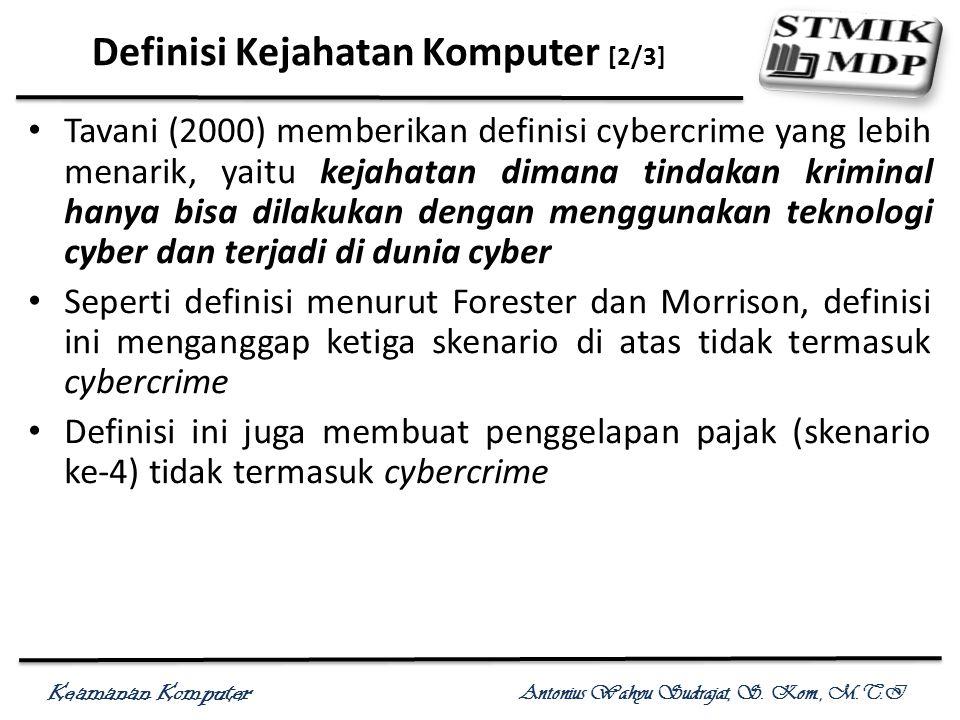 Definisi Kejahatan Komputer [2/3]